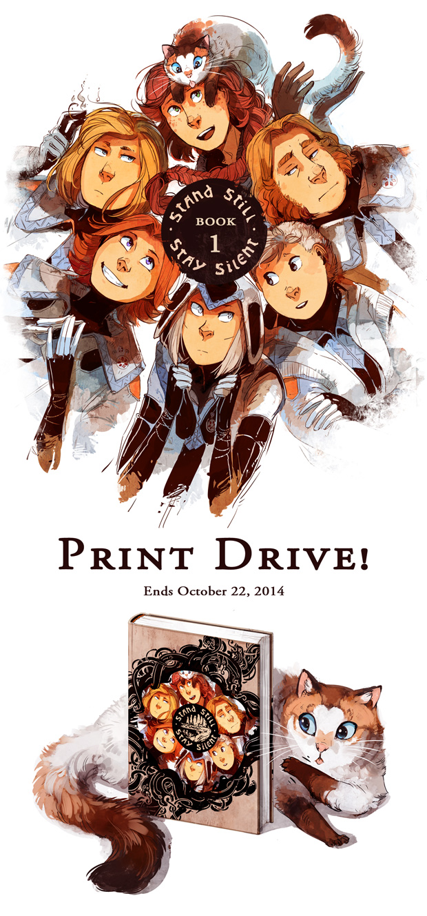 The print drive is live!